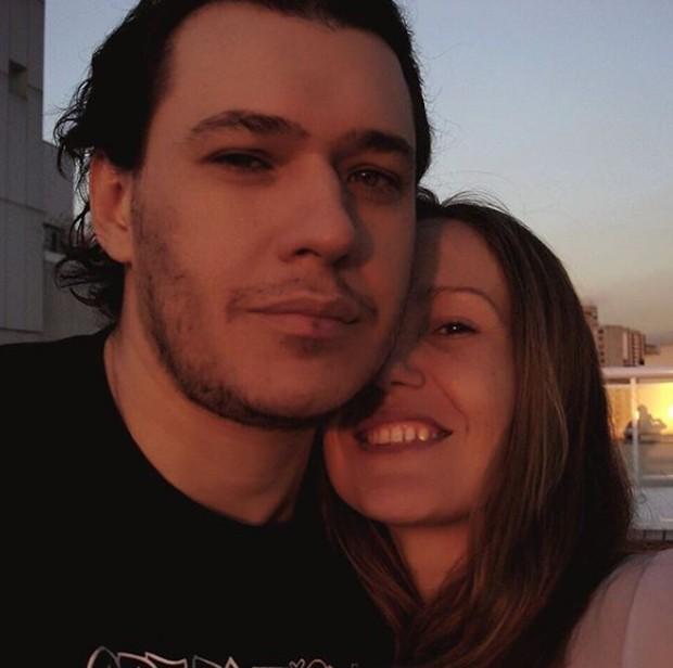 Chorão e Graziela Gonçalves (Foto: Reprodução/Instagram)