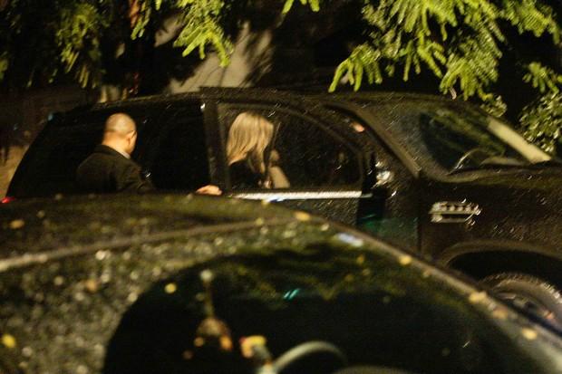 Eliana em casa noturna em São Paulo (Foto: Daniel Silva / AgNews)