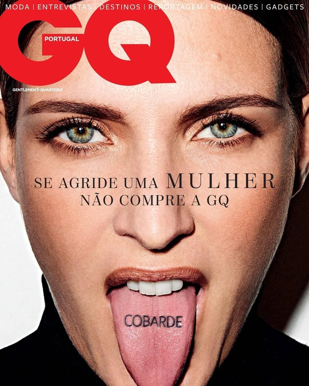 Capa de Março da GQ Portugual (Foto: Divulgação)