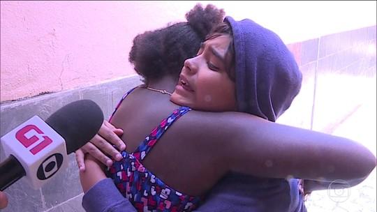 Menina levada para a África pelo pai há 5 meses volta ao Brasil