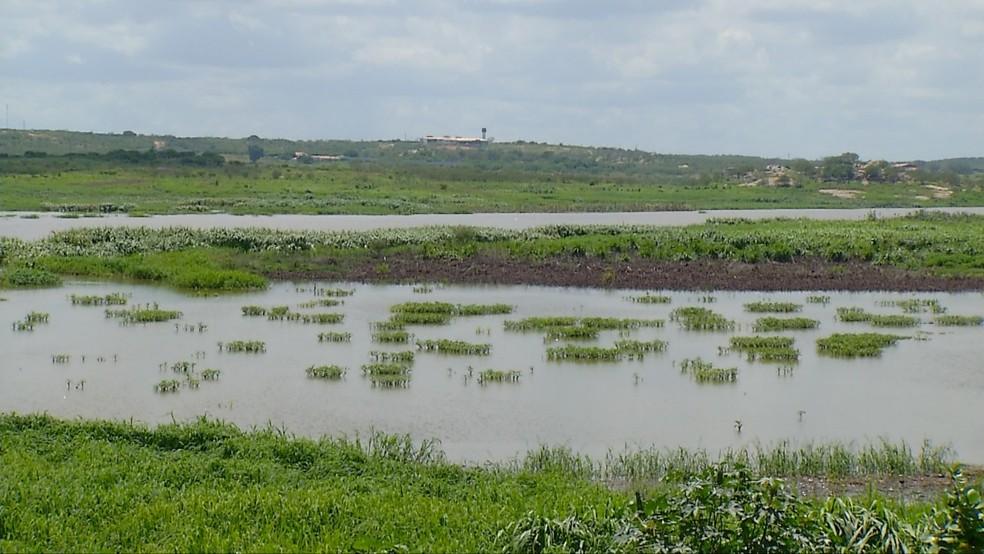 Chuvas dos últimos dias melhora situação hídrica do RN (Foto: Reprodução/Inter TV Cabugi)