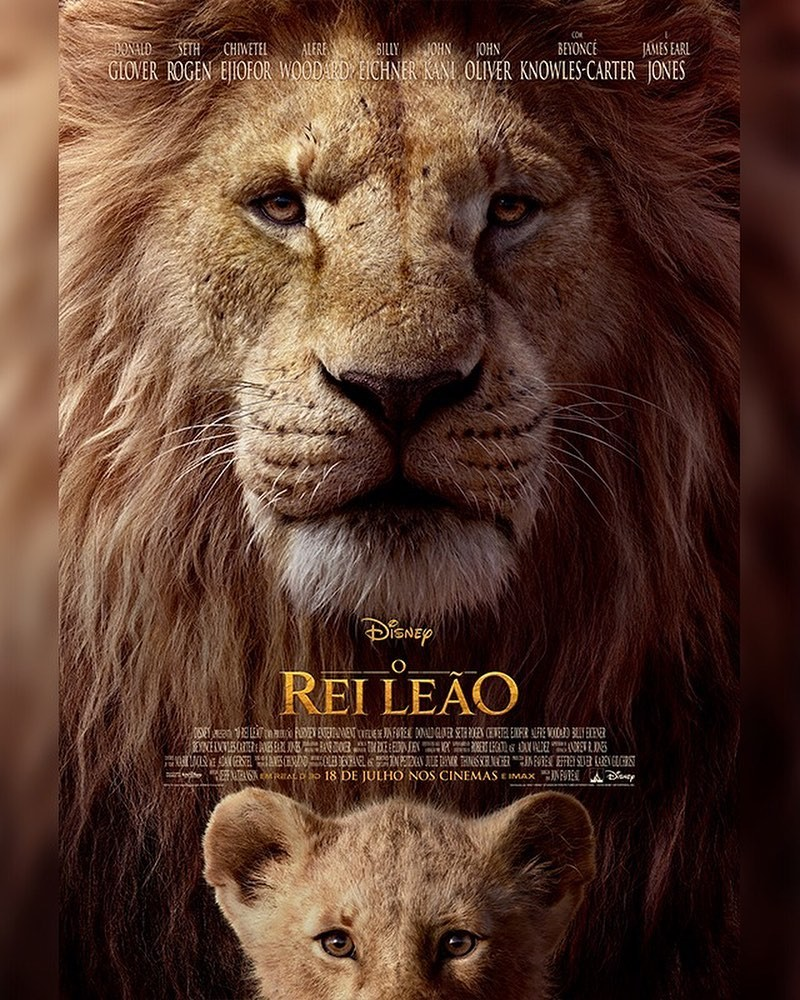Pôster de live action de O Rei Leão (Foto: Divulgação/Walt Disney Studios)