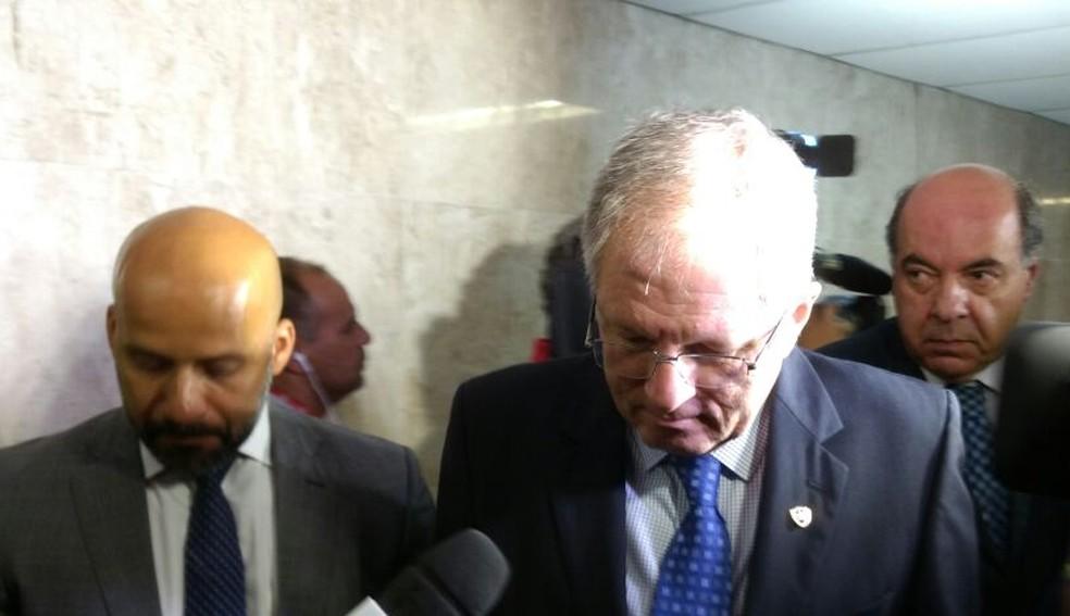Carlos Eduardo Pereira, presidente do Botafogo, clube com maior quantidade de processos: