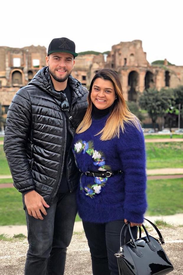 Preta Gil e Rodrigo Godoy curtem férias românticas na Itália (Foto: Reprodução/Instagram)