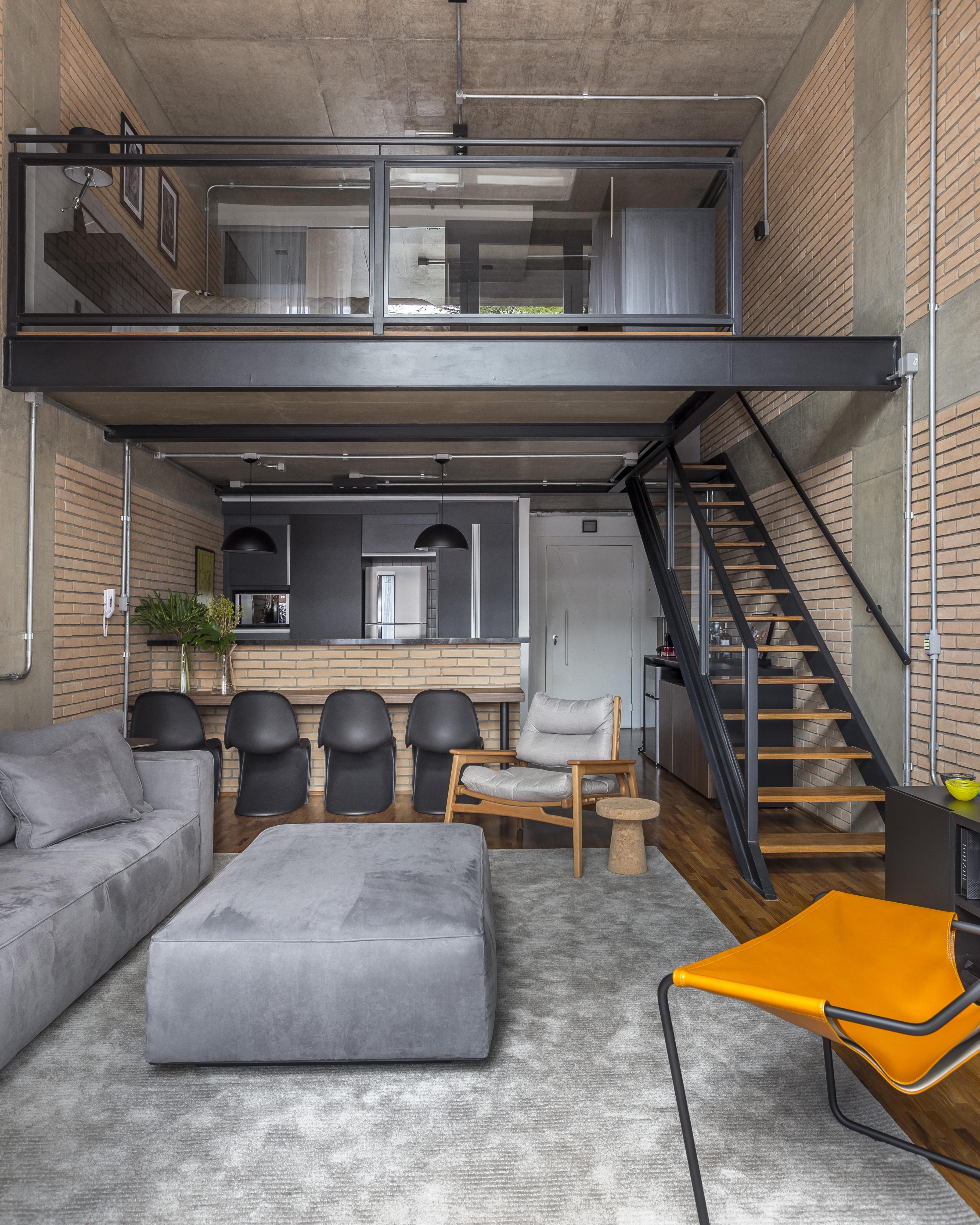 Escada reta, em L ou caracol? Saiba qual o melhor tipo para a sua casa (Foto: Divulgação)