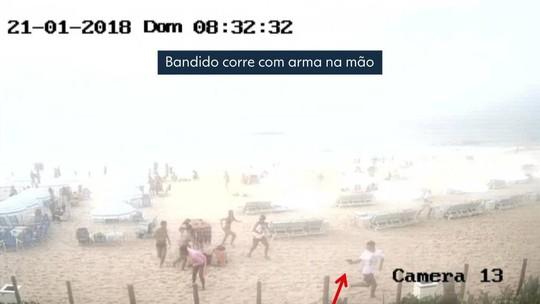 VÍDEO mostra ação que acabou com estudante baleada em praia do Rio
