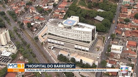 Kalil e Pimentel celebram funcionamento total do Hospital do Barreiro, em BH