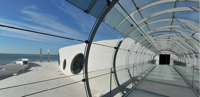 A sede da Fundação Champalimaud virou marco arquitetônico em Lisboa (Foto: Divulgação)