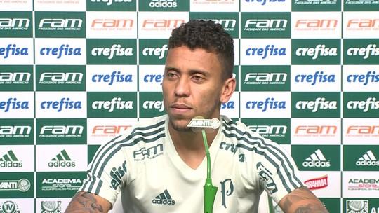 Marcos Rocha diz que conquistar título expressivo é importante para ficar no Palmeiras em 2019