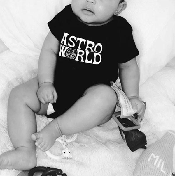 Stormi Webster, filha de Kylie Jenner e Travis Scott (Foto: Instagram)