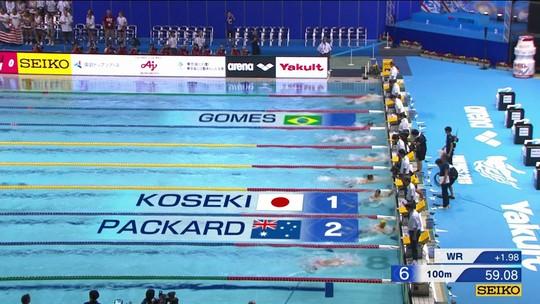 Brasil ganha 4 medalhas no Pan Pacífico 2018