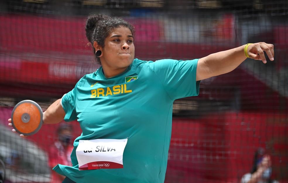 Izabela da Silva se classificou para a final — Foto: REUTERS/Dylan Martinez