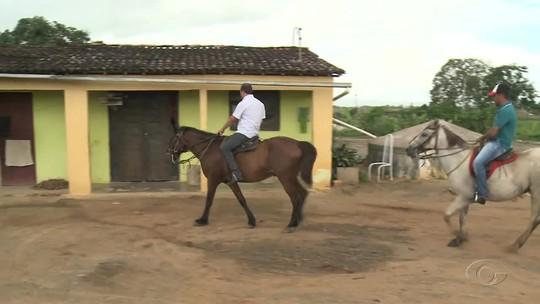 Diretor evita evasão escolar em Igaci, AL, visitando alunos faltosos a cavalo