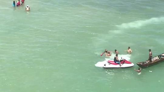 Duas mortes por afogamento são registradas no Pontal do Peba, em AL