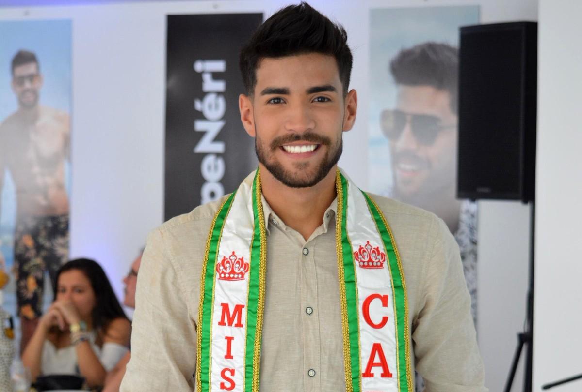 'Estou me preparando', afirma modelo que vai representar Caruaru no Mister Pernambuco