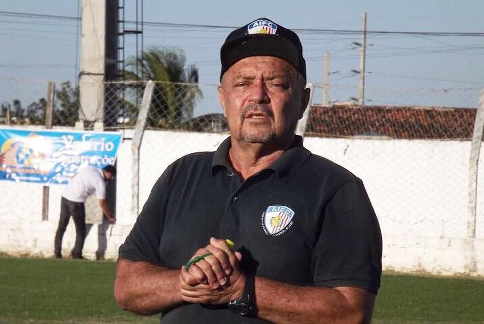 Adelmo Soares vai estrear pelo Afogados — Foto: Romário Silva / Afogados FC