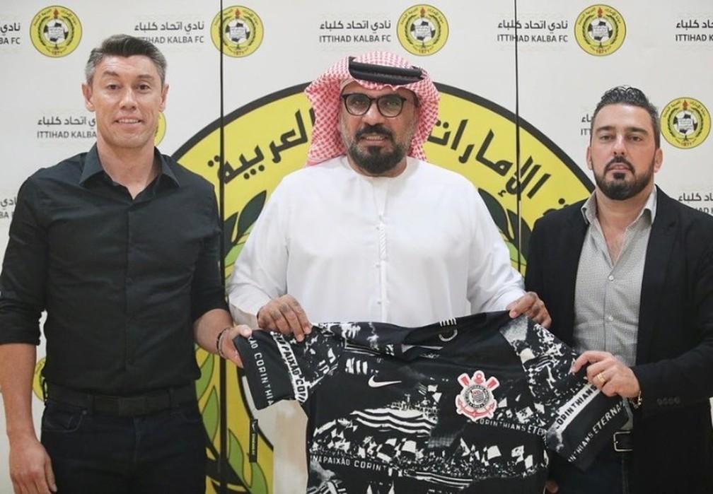 Após reunião com clubes, dirigentes do Corinthians encerram tour pelo Oriente Médio