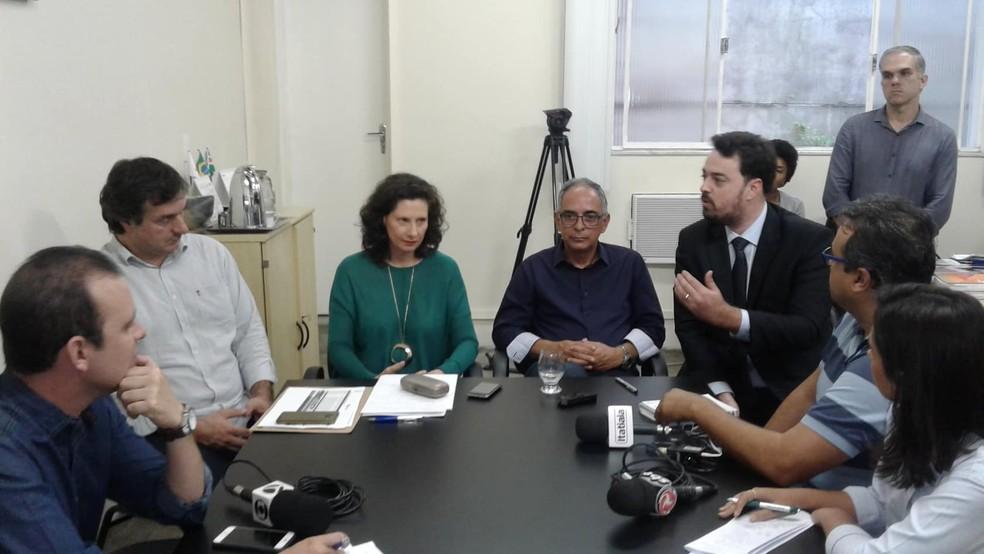 Procurador informou que estão sendo preparadas ações a serem ajuizadas contra o governo de MG (Foto: Fellype Alberto/G1)