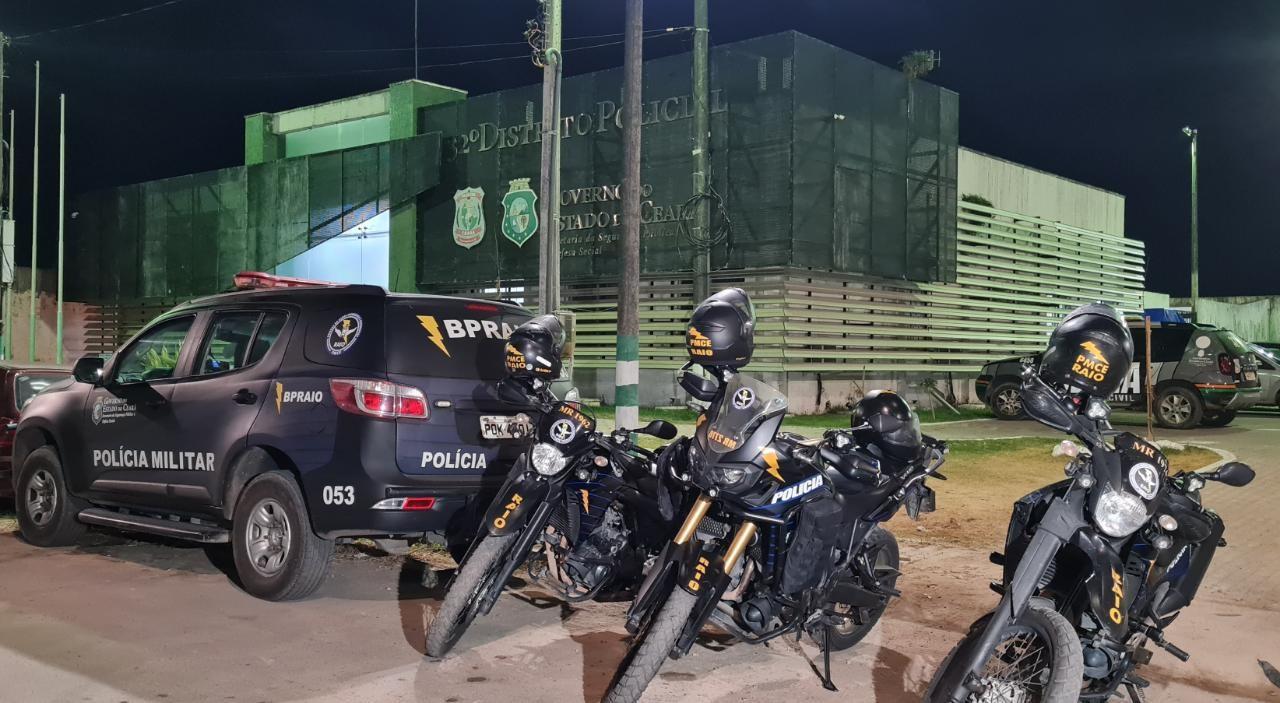 Jovem com tornozeleira eletrônica é preso com drogas pela segunda vez em sete meses, em Fortaleza