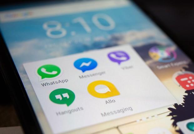 Tela de celular com aplicativos de comunicação (Foto: Pexels)