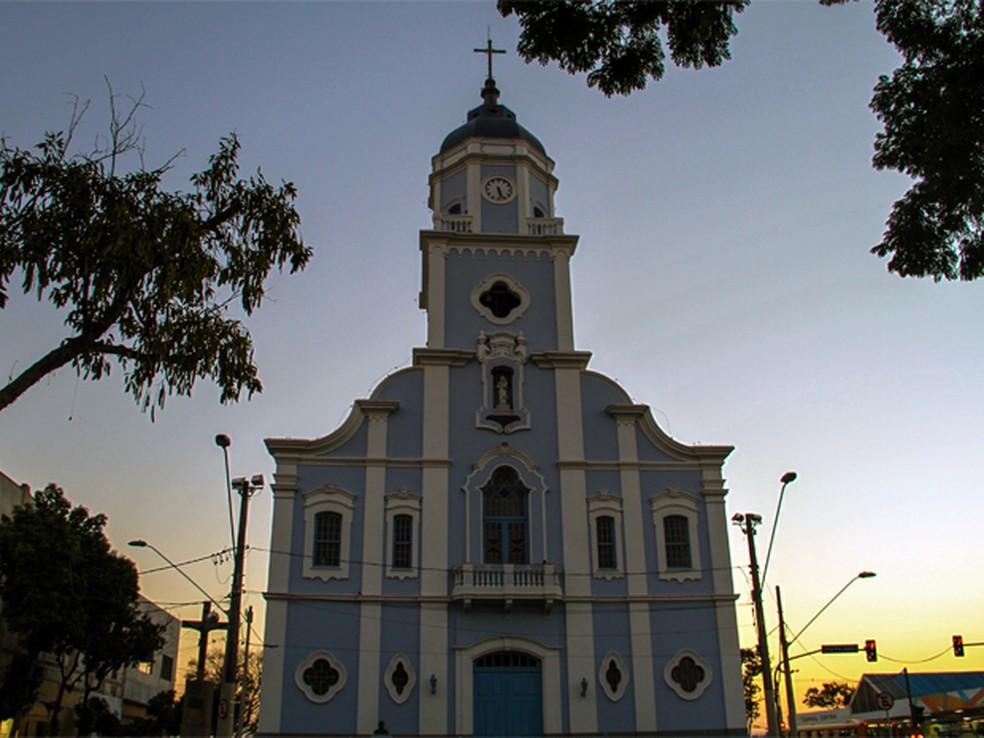 Igreja Matriz de São José dos Campos — Foto: Carlos Santos/ G1