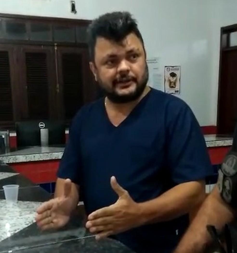 48fd40672bbae ... Paulo Roberto Penha Costa foi preso após omitir socorro a recém-nascido  em Pinheiro (