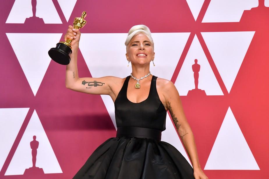 d6c8b293ee3 Oscar 2019  Lady Gaga alcança marco na história das premiações ...