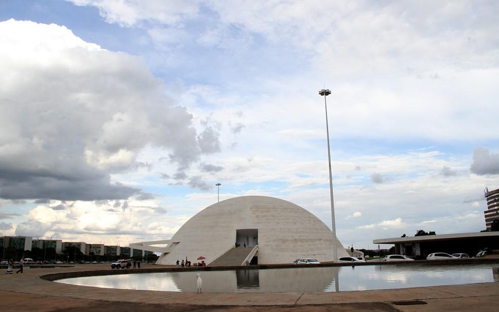 Museu da República e Esplanada dos Ministérios — Foto: Vianey Bentes/TV Globo