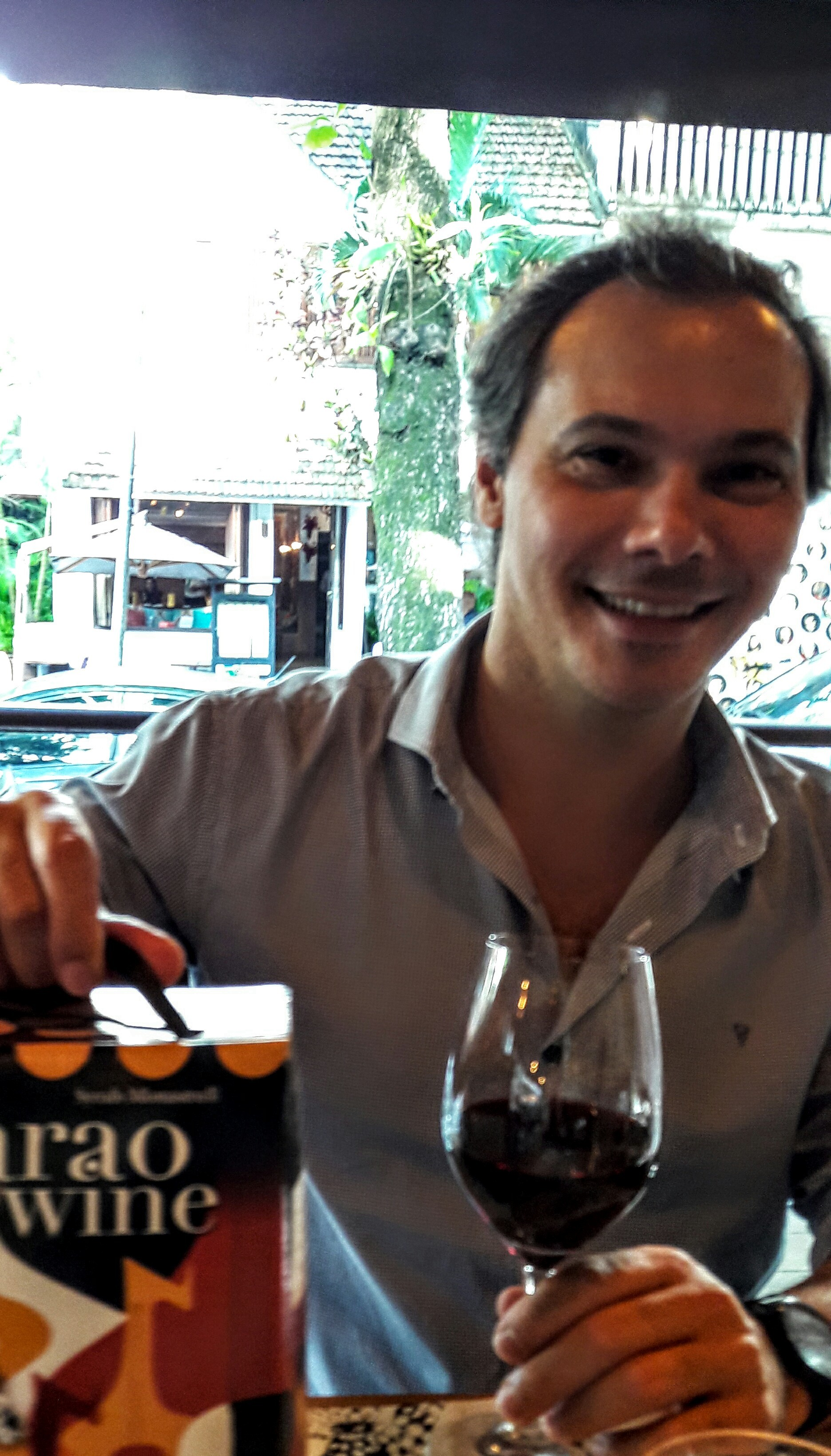 O sommelier Dionísio Chaves