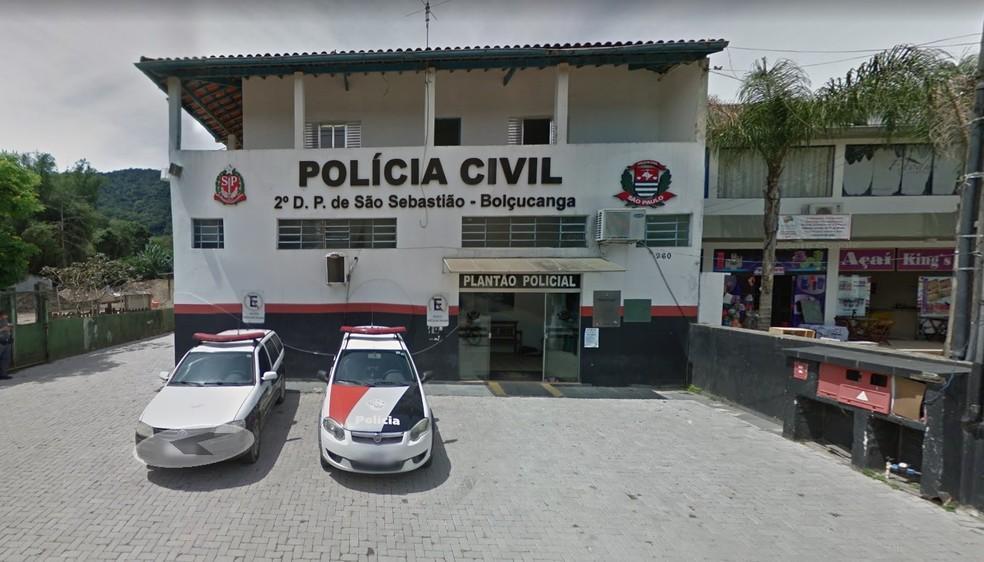 Delegacia de Boiçucanga em São Sebastião — Foto: Reprodução/Google Street View