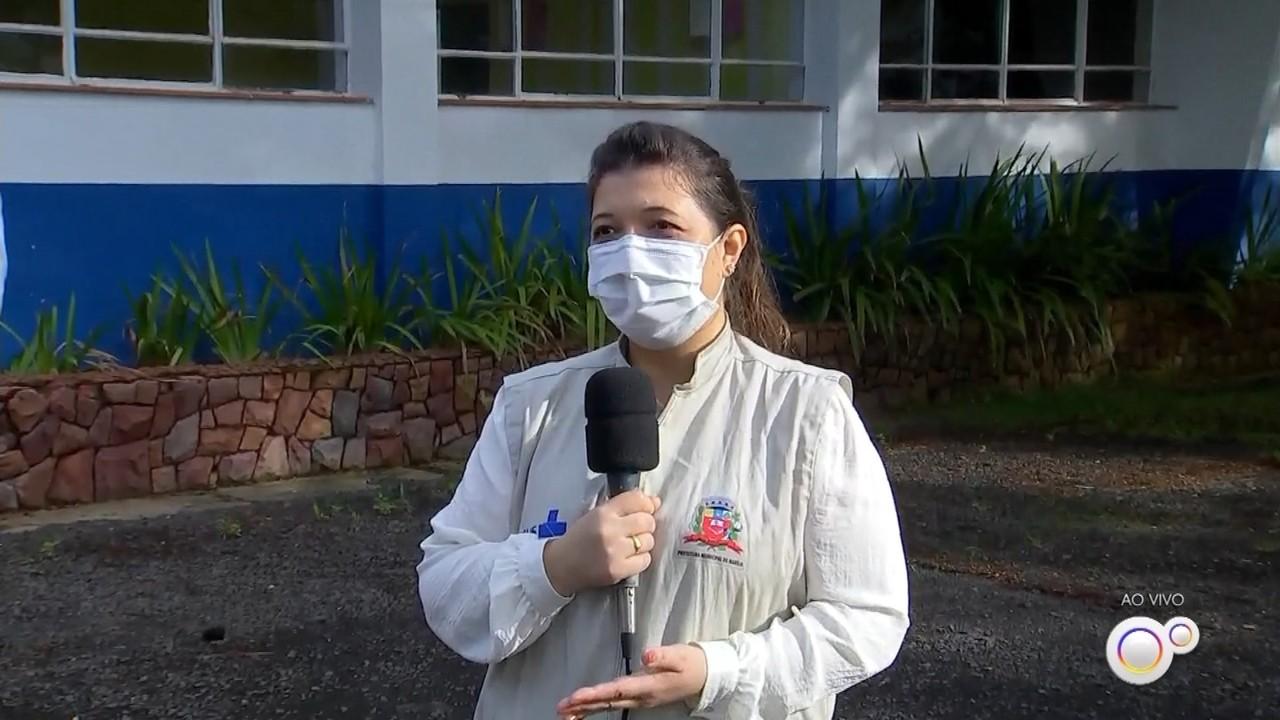 Centro-oeste paulista inicia vacinação contra Covid de pessoas com mais de 80 anos
