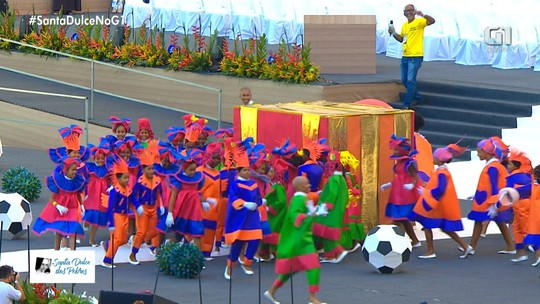 Espetáculo infantil 'Império do Amor' é apresentado na Arena Fonte Nova
