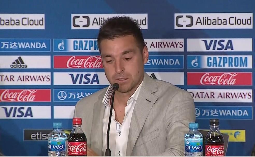 Diego Alonso tenta o colocar o Pachuca na decisão do Mundial (Foto: Reprodução)