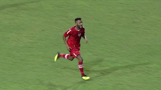 Os gols de CRB 1 x 1 Vila Nova, pela 5º rodada da Série B