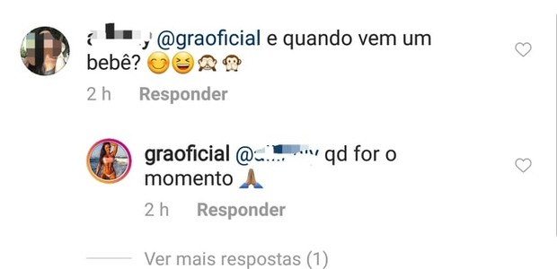 Gracyanne comenta sobre gravidez (Foto: Instagram/Reprodução)