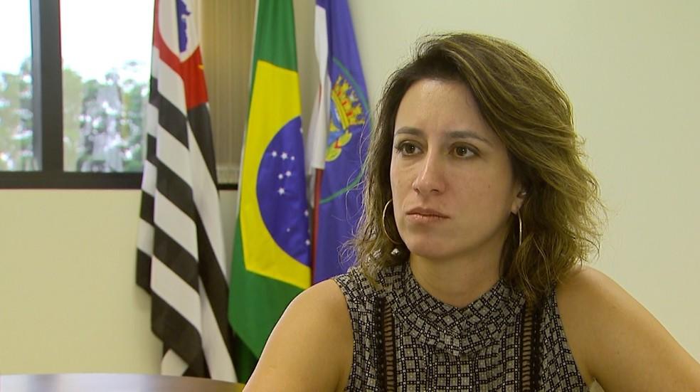 A procuradora da República Daniela Gozzo de Oliveira ofereceu denúncia por racismo em Ribeirão Preto — Foto: Carlos Trinca/EPTV