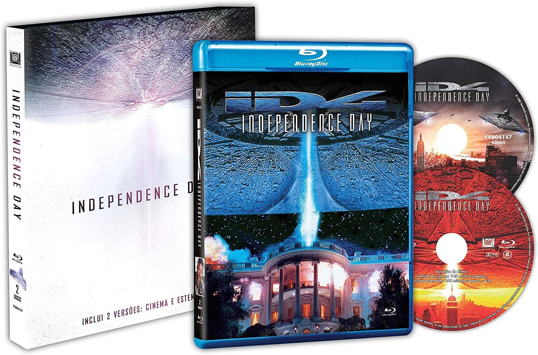 O kit Blu-Ray de Independence Day acompanha dois discos (Foto: Divulgação/Amazon)