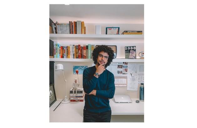 'Sergio ama o escritório. É onde faz seus projetos', diz (Foto: Reprodução)