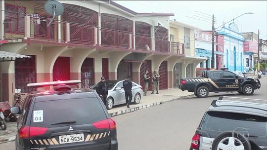 Em Humaitá (AM), prefeito, vice, vereadores e garimpeiros são presos