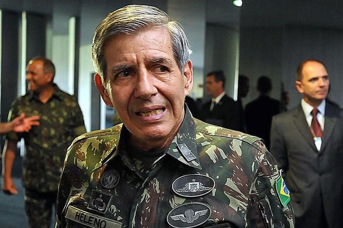 General Augusto Heleno, futuro ministro da Defesa de Jair Bolsonaro — Foto: Agência Brasil/Arquivo