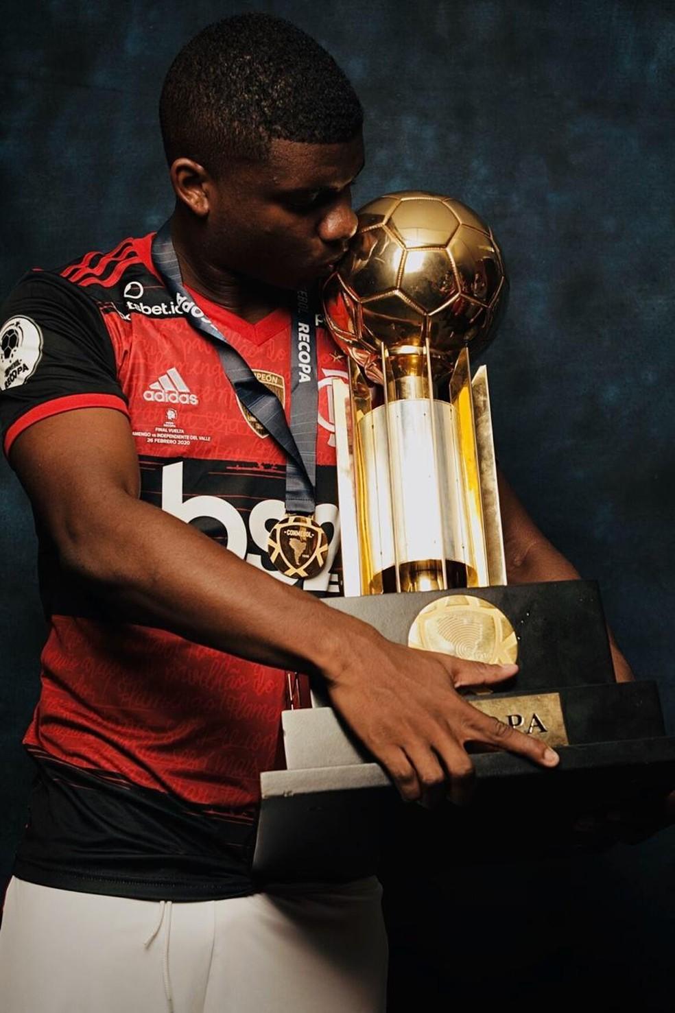 Lincoln Flamengo — Foto: Divulgação Conmebol