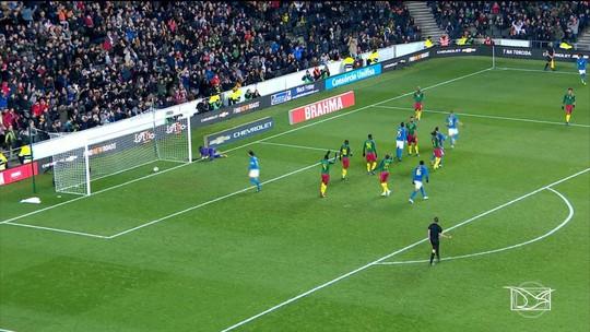 Seleção Brasileira vence Camarões em amistoso