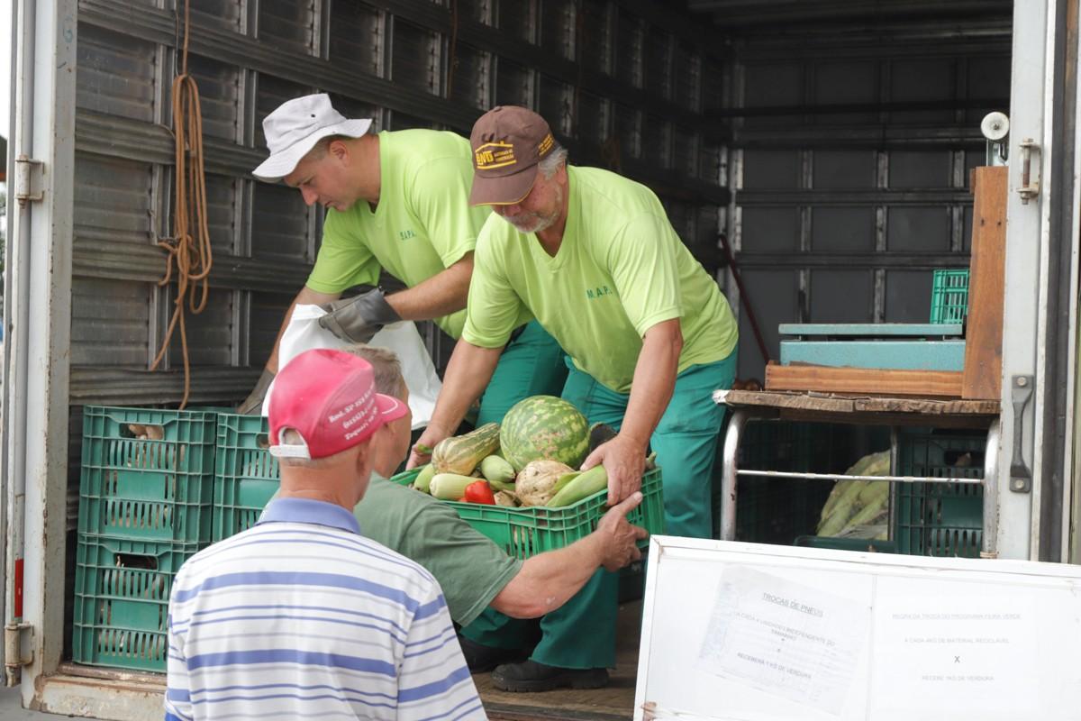 Programa Feira Verde, em Ponta Grossa, ganha mais 21 pontos de troca em agosto; confira locais e calendário