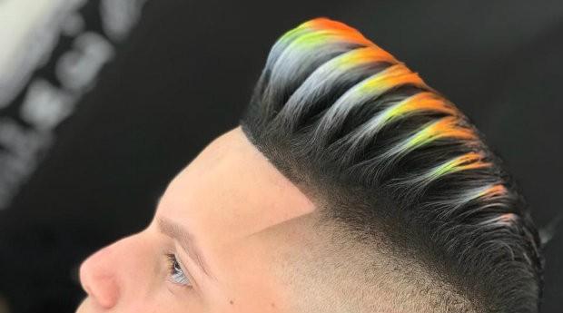 Corte de cabelo que está bombando nas redes sociais (Foto: Divulgação)