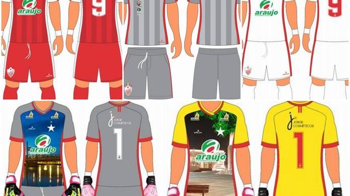 Rio Branco divulga novo modelo de uniforme  estreia deve ser domingo (11)  12b720f7f3a6d