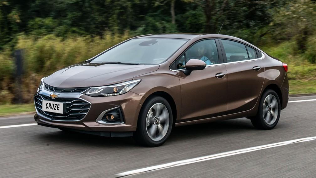 Chevrolet Cruze 2020 chega com 'cara' nova e wi-fi para os ...