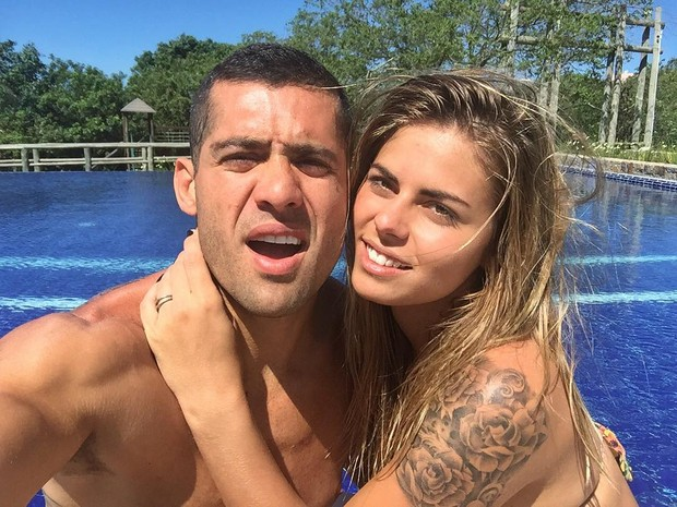 Yuri Fernandes e Amanda Teixeira (Foto: Reprodução/Instagram)