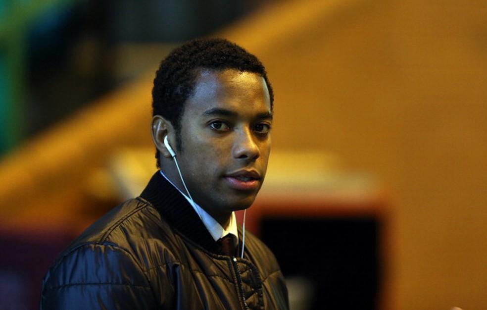Robinho foi condenado em primeira instância na Itália — Foto: MacNicol/AFP/Getty Images