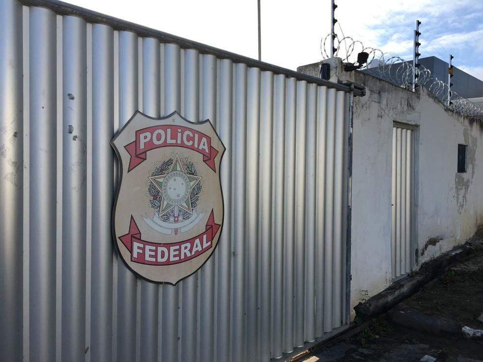 Prisão foi feita pela Polícia Federal  — Foto: Felipe Valentim/TV Paraíba/Arquivo