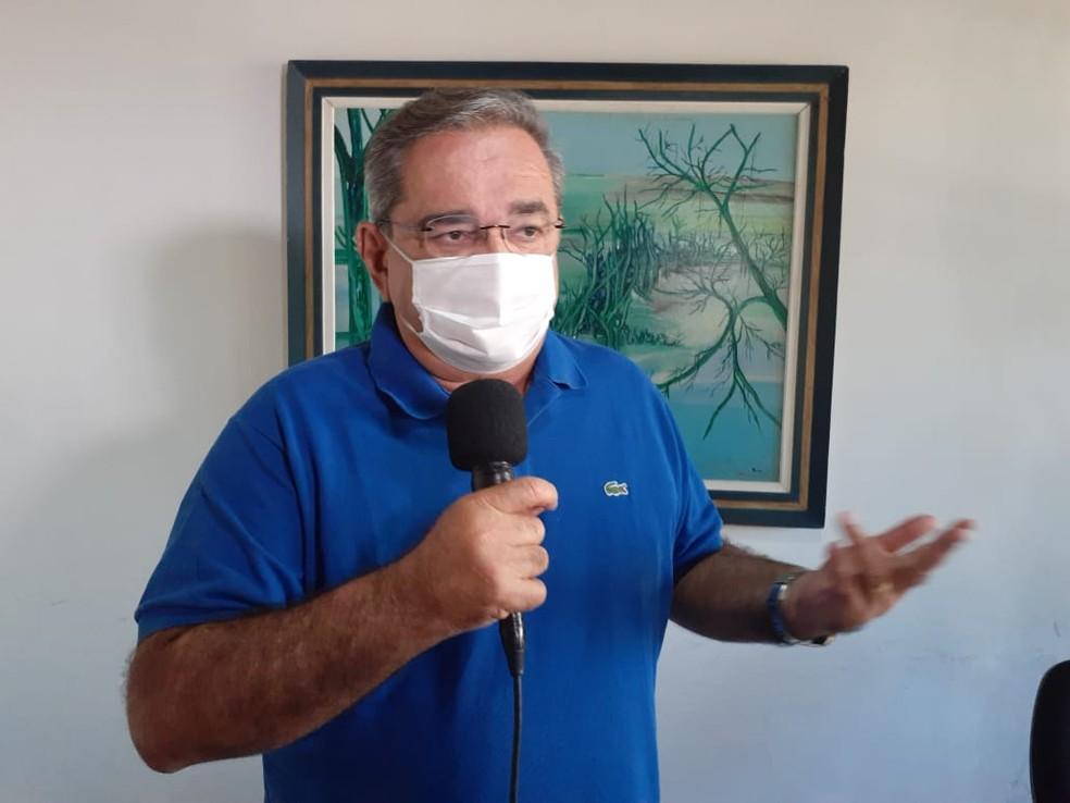 Álvaro Dias, prefeito de Natal — Foto: Sérgio Henrique Santos/Inter TV Cabugi